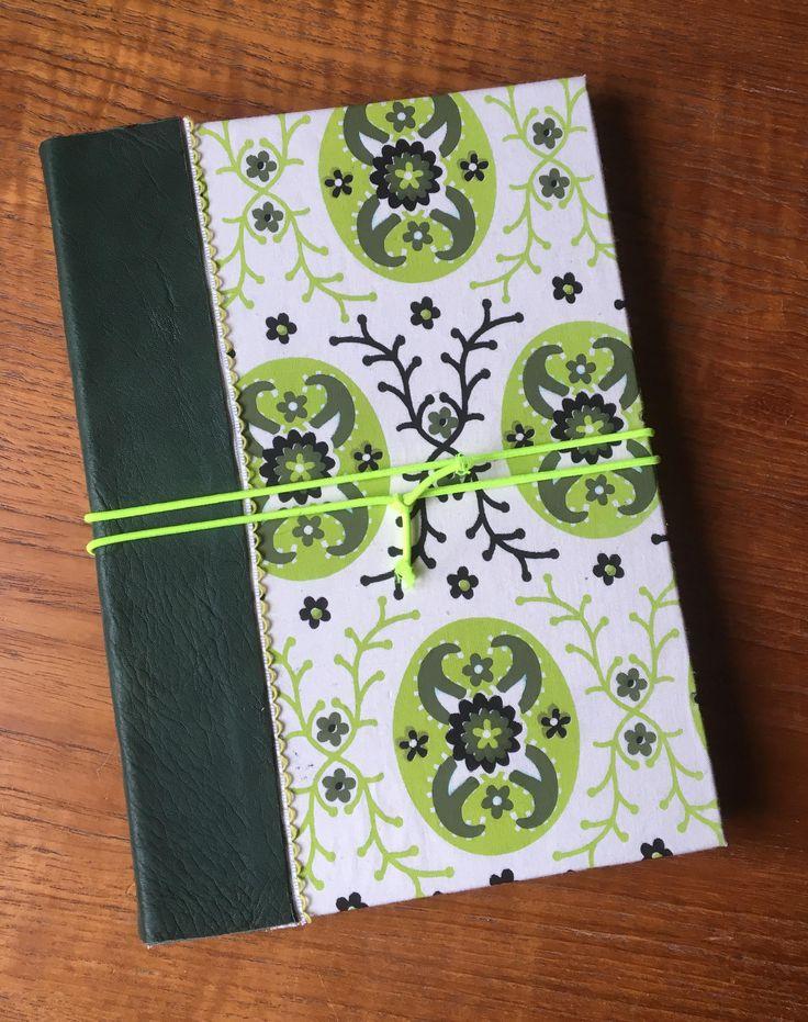 Art Journal _ grøn/green - Petronella Design