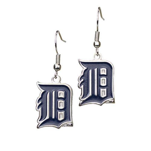 Detroit Tigers Ladies Dangle Earrings At Campus Den
