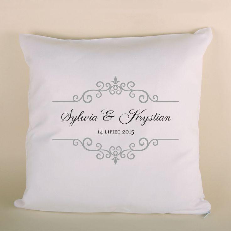 Poduszka ślubna to doskonały prezent dla bliskiej osoby.