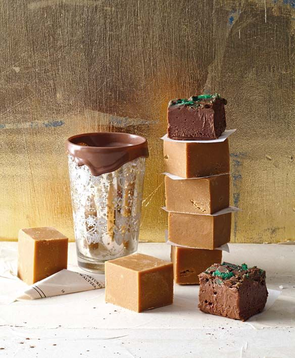 Luscious, rich and absolutely decadent! Peppermibt crisp squares