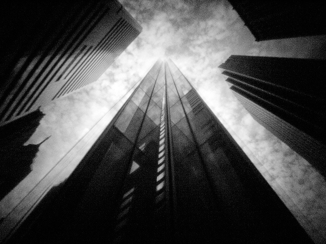 Pinhole Downtown Philly