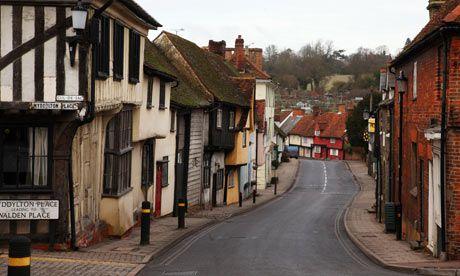 The Medieval town of Saffron Walden, Essex, UK Home of Design Essentials first ever pop up shop at @Caroline