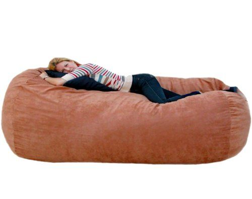 Cozy Sack Bean Bag Chair Rust