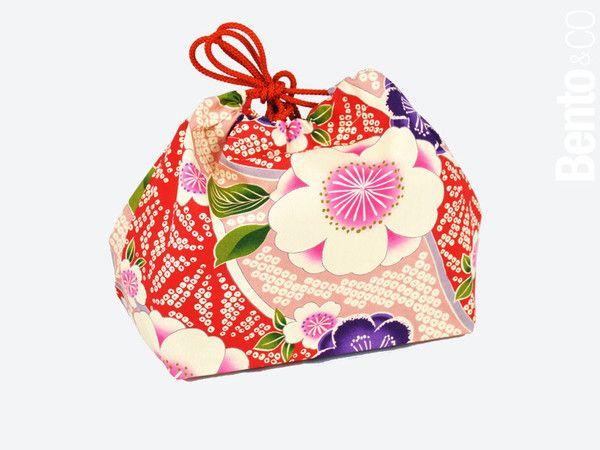 Sac pour Bento Kimono L