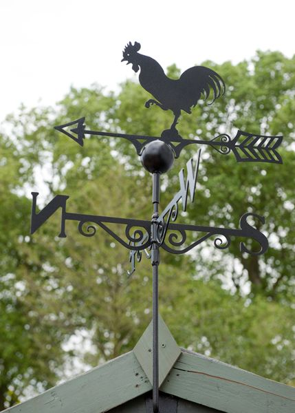 Our traditional, 100% British made weather vanes are perfect for adding an attractive and practical feature to your garden!
