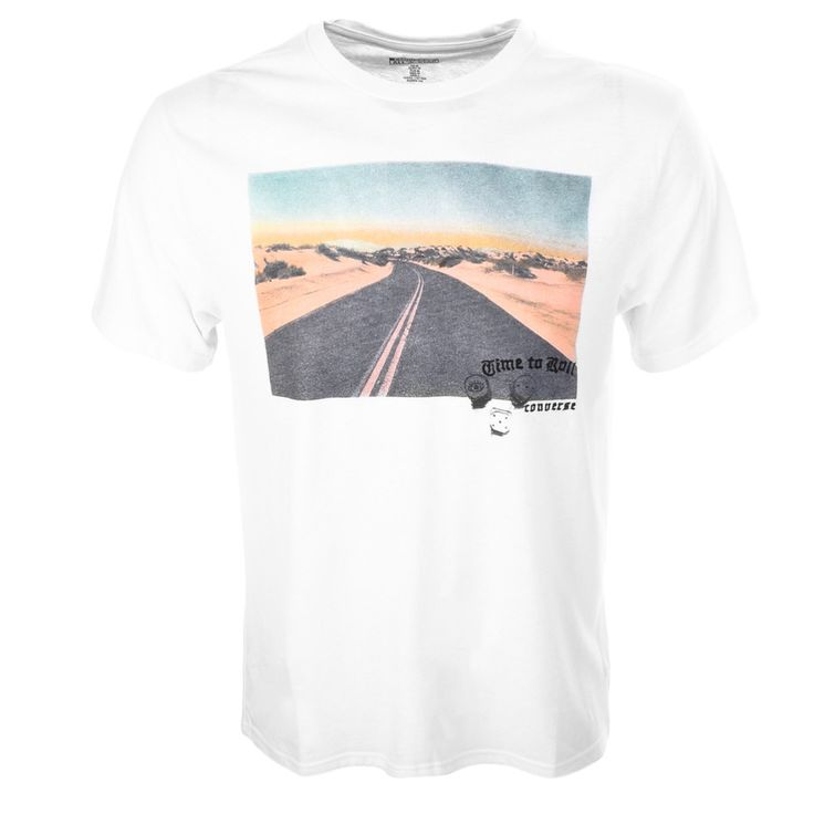 Converse | Converse All Star Open Road T Shirt White | Converse T Shirts | Polo T Shirts | Converse Clothing @ Mainline Menswear Stocking All Converse Mens Clothes Online UK Next Day Delivery