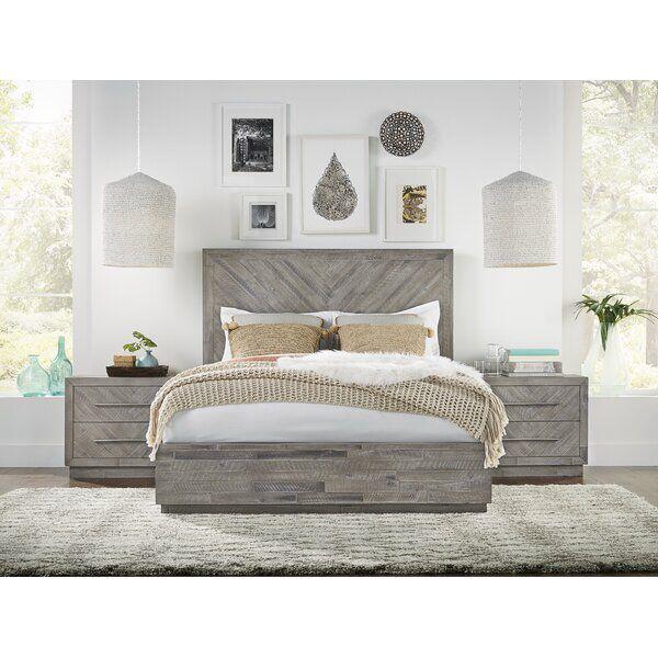 Robards Platform Solid Wood Configurable Bedroom Set In 2020 Bedroom Set Wood Bedroom Sets Home Decor Bedroom