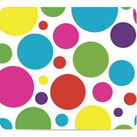 Ottomanson Polka Dot Design Vinyl Indoor U0026 Outdoor Non Woven Backing  Kitchen Picnic Tablecloth,