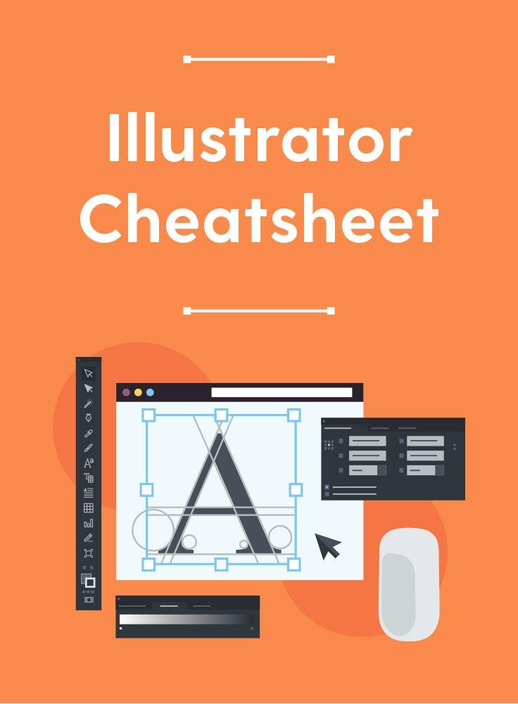 Free Illustrator Cheatsheet A Pdf Guide To The Pen Tool File Formats Shortcuts Graphic Design Lessons Adobe Illustrator Design Photoshop Tutorial Design
