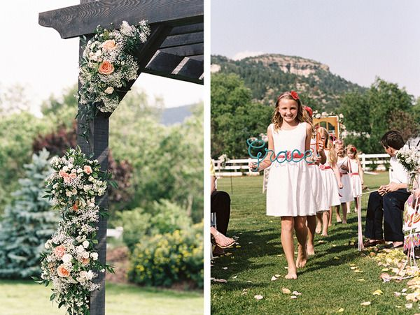 A Colorado wedding by Entwined Planning (www.entwinedplann...) at Crooked Willow Farm; Photographed by Braedon Photogr