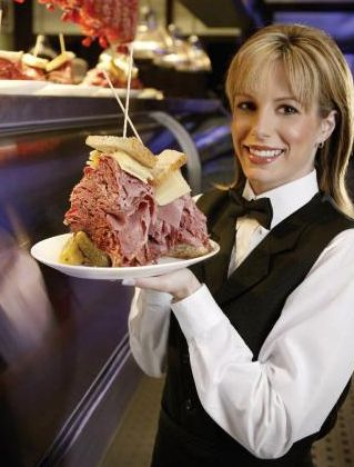 Carnegie Deli at The Mirage - Big appetite? Try to get your mouth around these 10 dining challenges in Las Vegas!