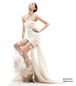 Romantic Ethereal Wedding Dresses Spring 2013 By Rafael Cennamo