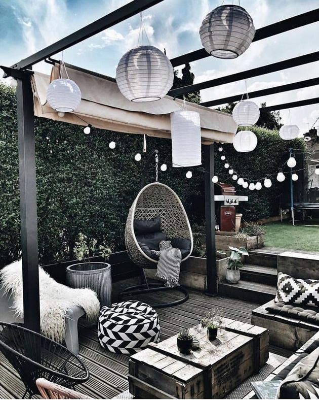 36+ Fresh and Creative Secrets of the Outdoor Terrace – #Creative #Fresh #metal #Outdoor #Patio – Russell