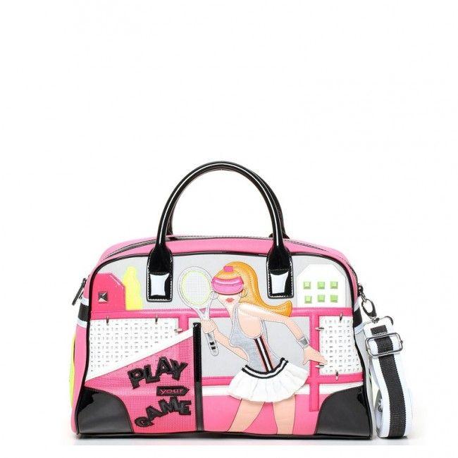 Borsa Braccialini Cartoline Sport Tennis #braccialini #handbags #cartoline #sport