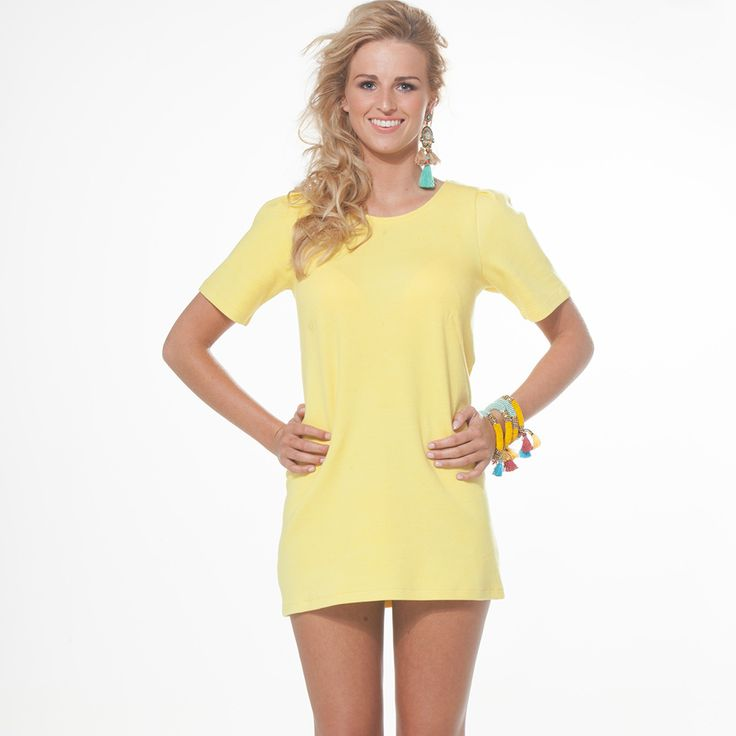 #bloved @tootz www.tootz.nl #yellow #dress
