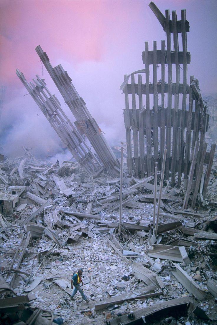 September 11, 2001   (Steve McCurry 9-11-01)