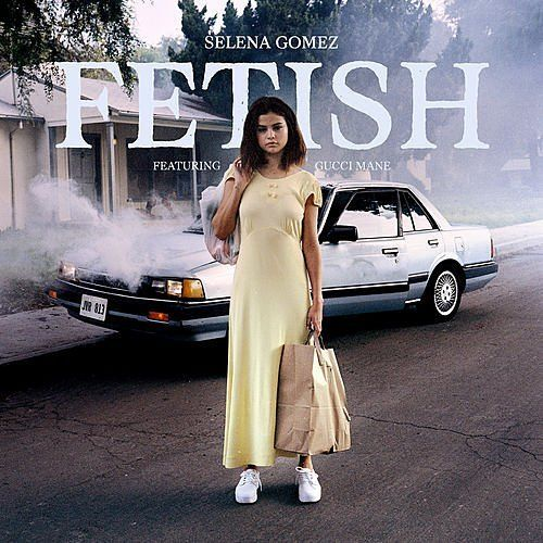 Selena Gomez & Gucci Manes Fetish Arrives July 13; Cover Art Revealed |via headlineplanet  Selena Gomez first teased her new song Fetish in the video for current radio single Bad Liar. She resumed the tease earlier this week. Friday she provided formal details about the new song. The track which features Gucci Mane will arrive on Thursday July 13. In conjunction with the release date announcement Gomez also shared what appears to be formal artwork for the song.  Selena Gomez y Gucci Mane…