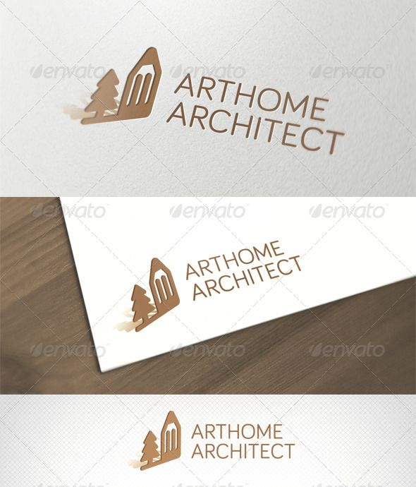 ArtHome Architect Logo Template - DOWNLOAD NOW
