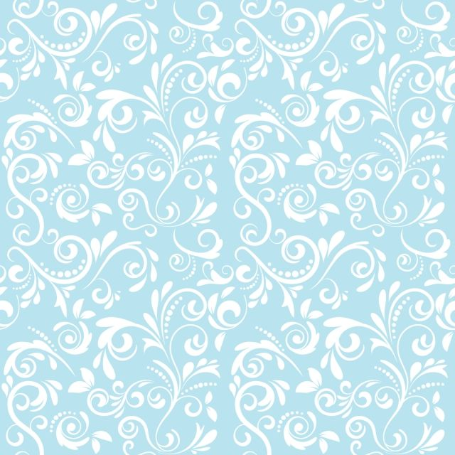 Vector Damask Seamless Pattern Background Grafico Vectorial
