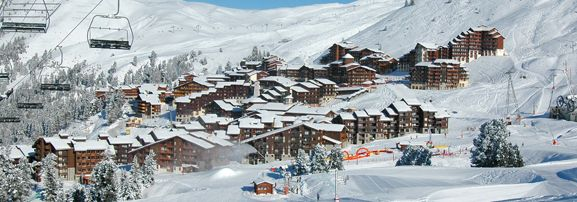 La Plagne ski resort for short ski breaks with Ski Weekends