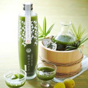 【お酒】宇治抹茶×青谷の梅酒(夜半のみどり)500ml (リキュール)§ 【伊藤久右衛門】Pretty green something. Kiwi juice? PD