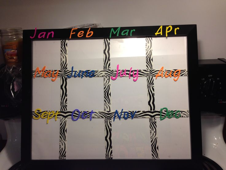 Birthday chart for my classroom #birthdaychart #school #fifthgrade