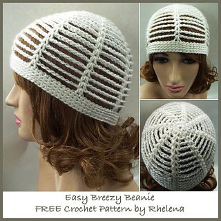 This Beanie Works Up Super Quick And Easy It S Suitable