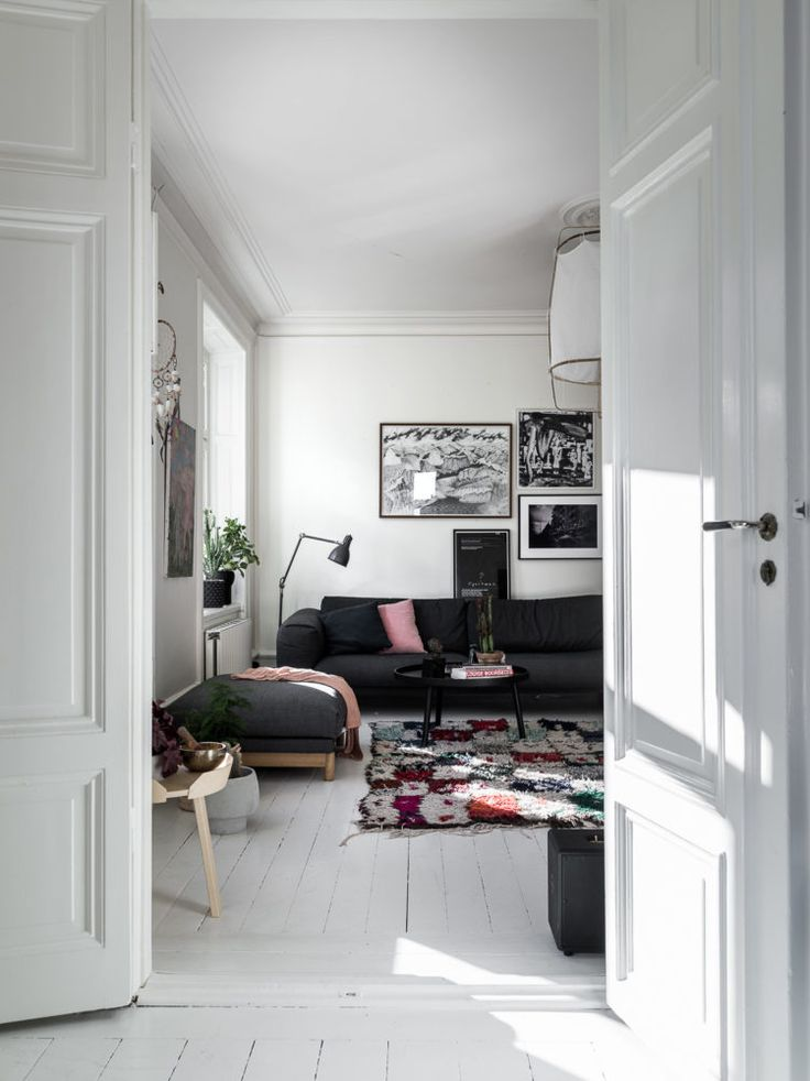 My Happy Place: A Scandinavian Home Featured on Historiska Hem || Bliss