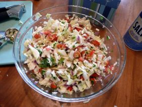 Mexican cabbage salsa