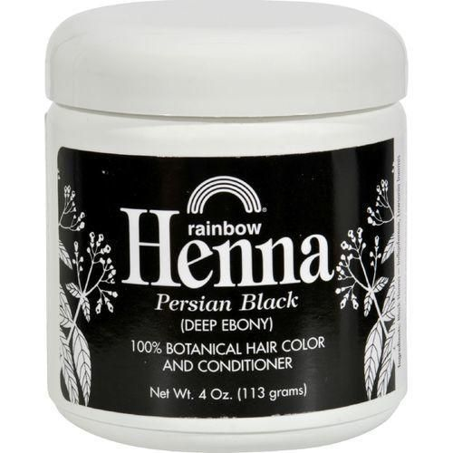 Rainbow Research Henna Hair Color And Conditioner Persian Black Deep