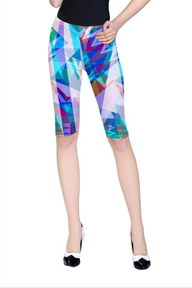 Triangle Party_MirandaMol Cropped Leggings #pinkcess #mirandamol #fashion #cool #leggings #summer #pinkcess #pinkcessfashion #pnkx