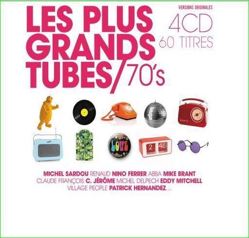 Les plus grands tubes années 70 CD Audio NEUF