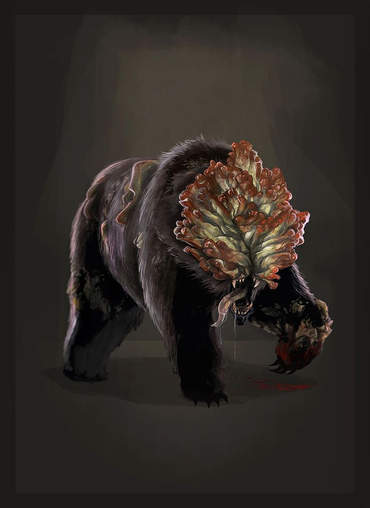 Image result for the last of us 2 concept art...OMG bear clickers? WTF
