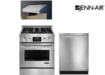 Stainless Steel Kitchen Appliance Package. Kitchenaid Black 4 Piece ...