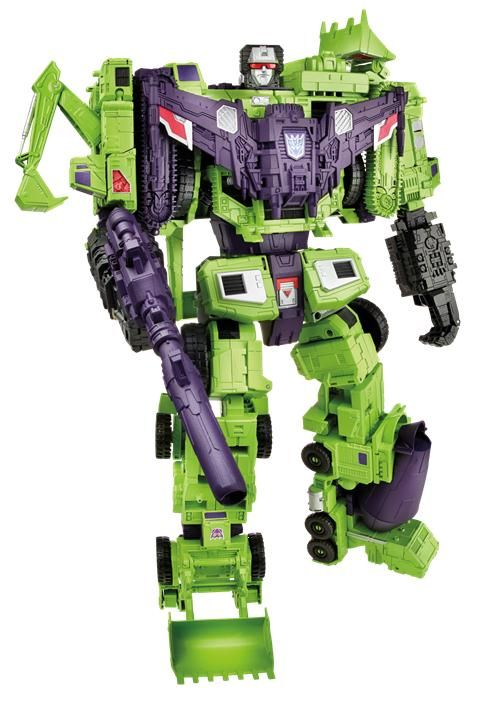 Combiner Wars Titan Devastator Official Image - Transformers News - TFW2005