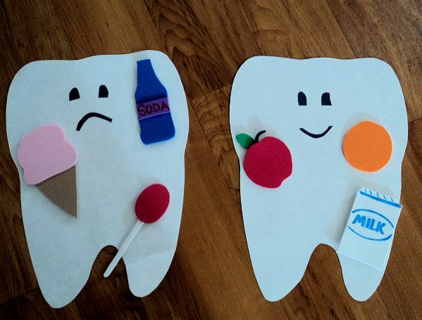 Sad tooth happy tooth science projects pinterest for Good arts and crafts