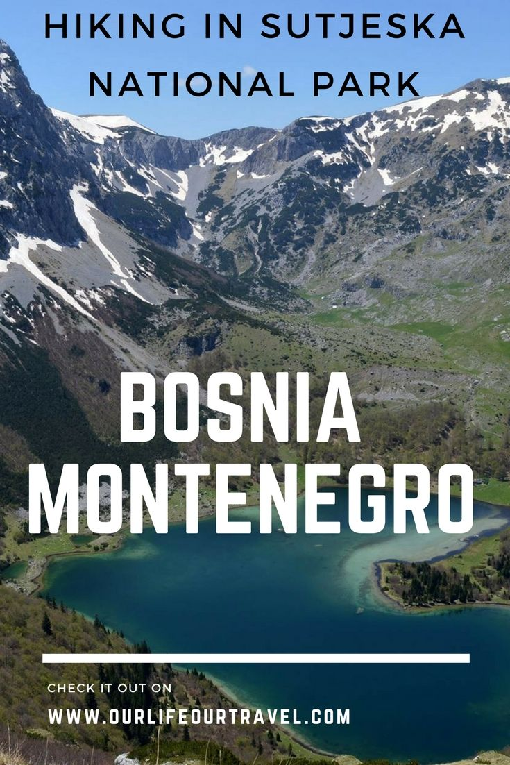 Hiking | Nature | Bosnia | Montenegro Sutjeska National Park is the oldest national park in Bosnia and Herzegovina in the Republika Srpska. High peaks, cute lakes and amazig scenery is waiting for you.