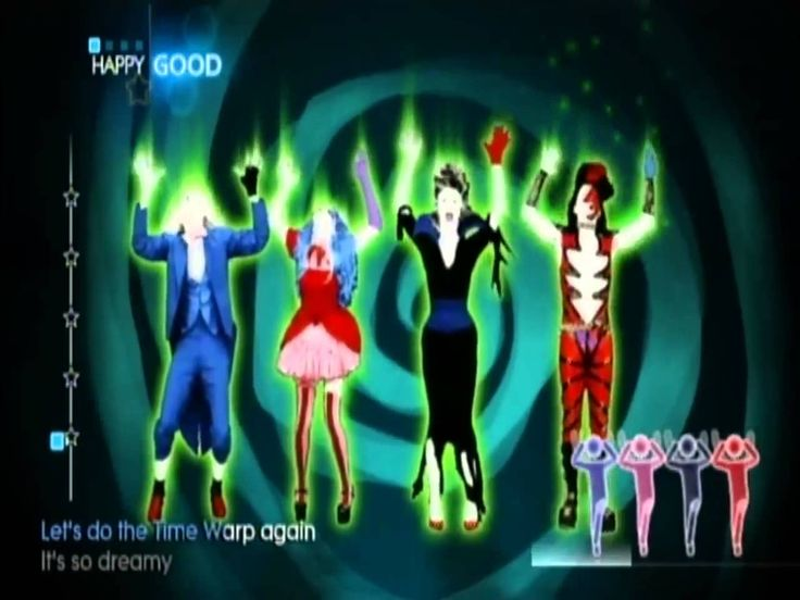 just dance 4 34 halloween thrills time warp - Halloween Dance Song