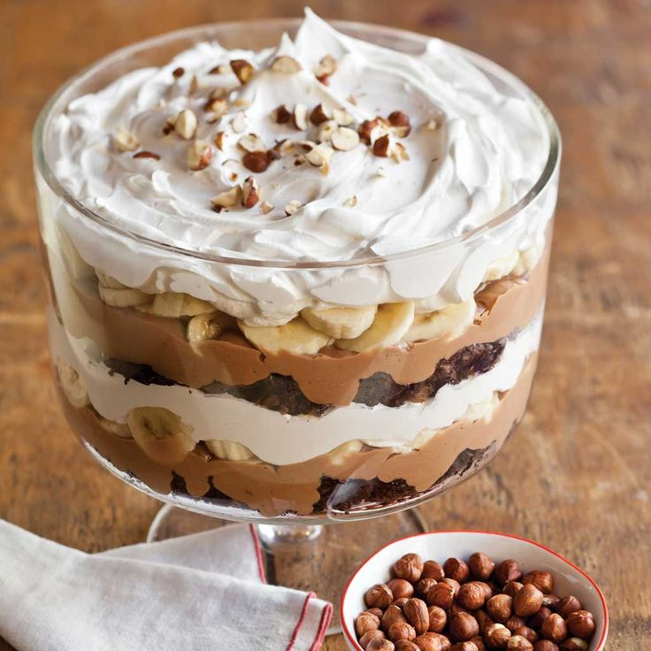 Nutella Banana Pudding Recipe - Celebrate Magazine