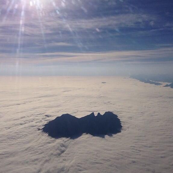 Cerro de la Silla, Monterrey, Nuevo Leon; Mexico