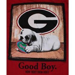 geoggia buldawgs | Georgia Bulldogs Football T-Shirts - Cutie Loves Her Bulldogs - Unique ...