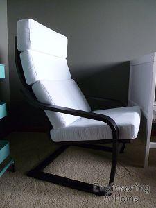 Nursery Poang Chair Cushion 9