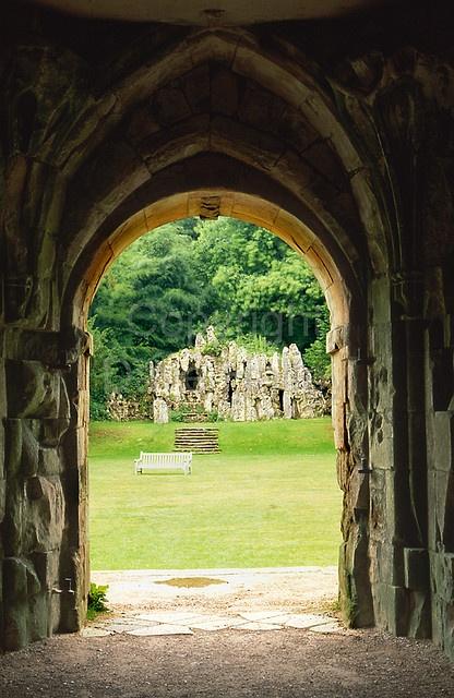 Old Wardour Castle, England.