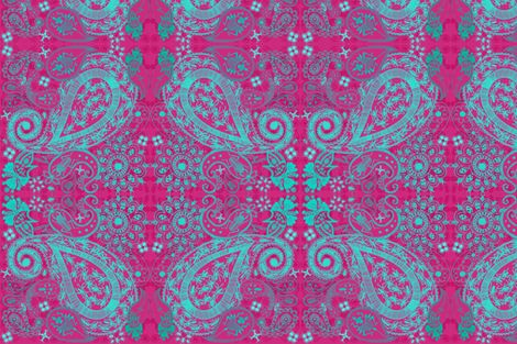 Bug Paisley  fabric by mollymacliving on Spoonflower - custom fabric