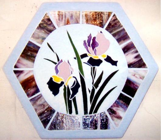 178 Best Glass Garden Art Images On Pinterest Stained