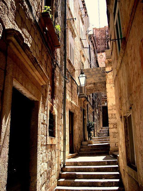 Ancient passage - Dubrovnik, Croatia