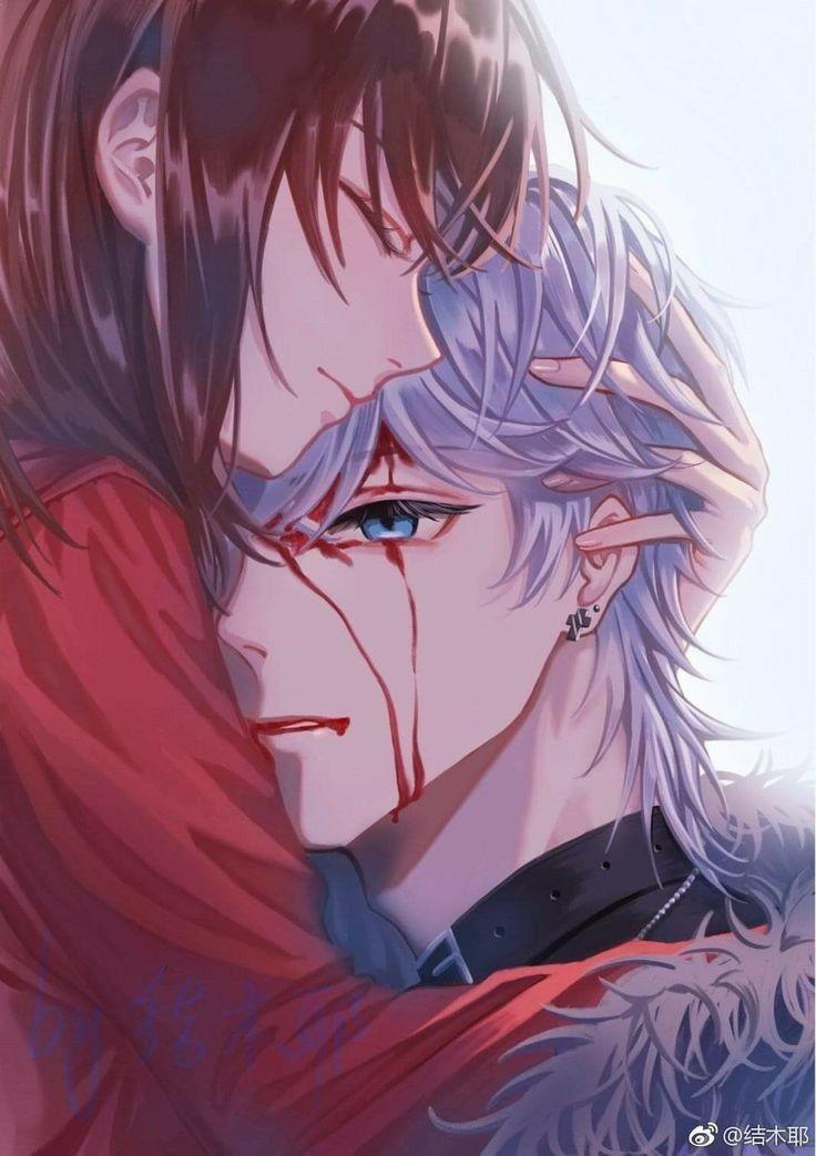 Pin On Anime Couple Cute romantic anime wallpaper