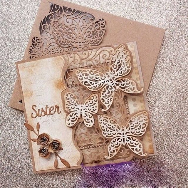 *NEW 2018* Create a Card Die/'sire Cut on Edge Dies by Crafters Companion