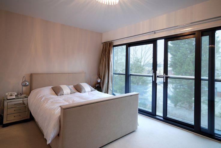 Loft Bedroom with sliding doors