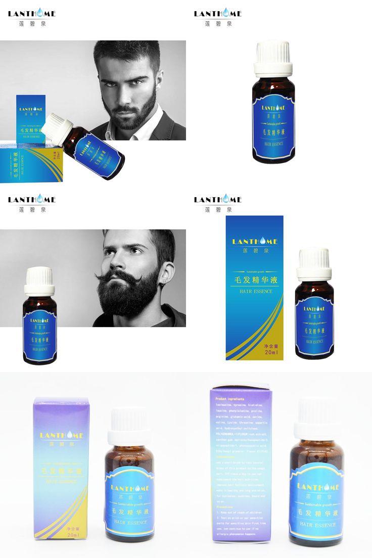 [Visit to Buy]  Beard Growth oil beards hair Thicker Essence Mustache Thick sideburn Treatment  liquid feg eyebrow enhancer serum yuda hair gro #Advertisement